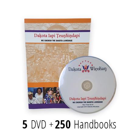 Dakota Wicohan DVD and Handbook